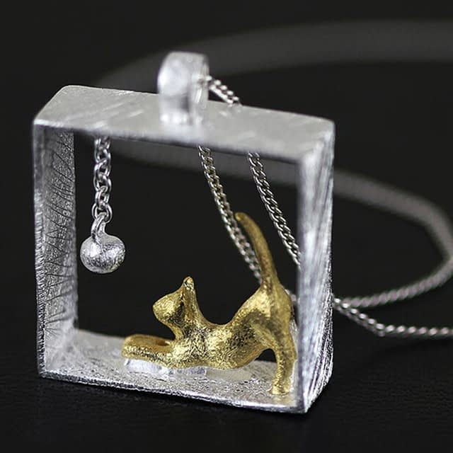 Silver-Color-Cute-Cat-Necklaces-for-Women-Alloy-Link-Chain-Kitty-Necklaces-Pendants-Fashion-Jewelry-Friend_0