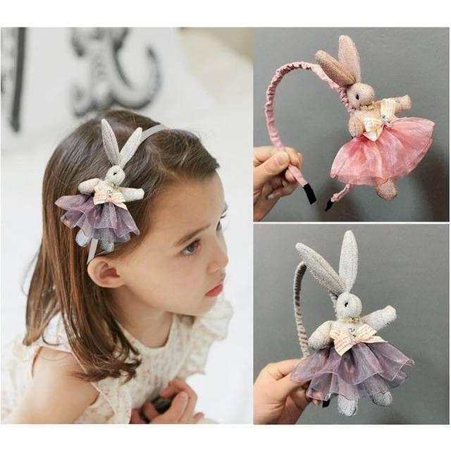 New-Fashion-Children-s-Cartoon-Rabbit-Lace-Dress-Headbands-Kids-Bow-Knot-Anti-slip-Hairband-Headwraps_1