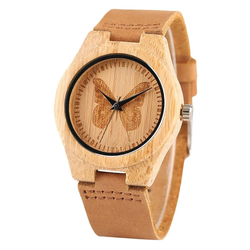 round-engraved-wooden-watch-butterfly-main