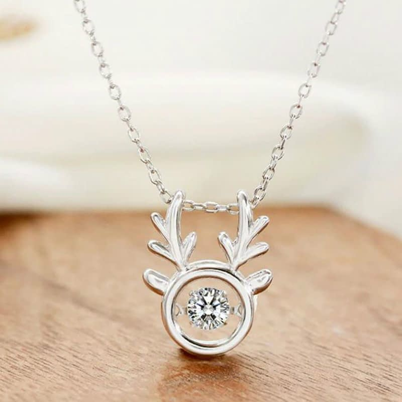 Wholesale-925-Sterling-Silver-Chain-Necklaces-Silver-Crystal-Deer-Pendant-Necklaces-Jewelry-Collar-Colar-de-Plata_12