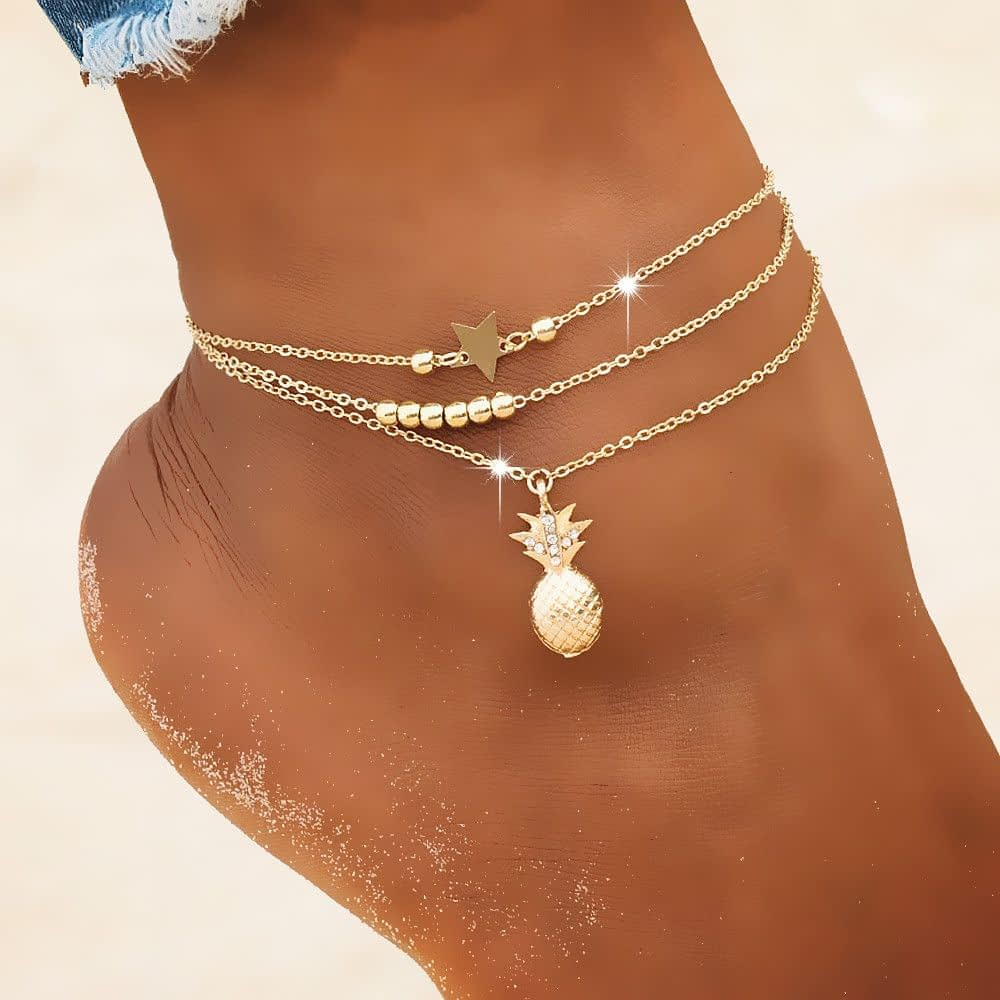 pineapple-Star-Anklet-1