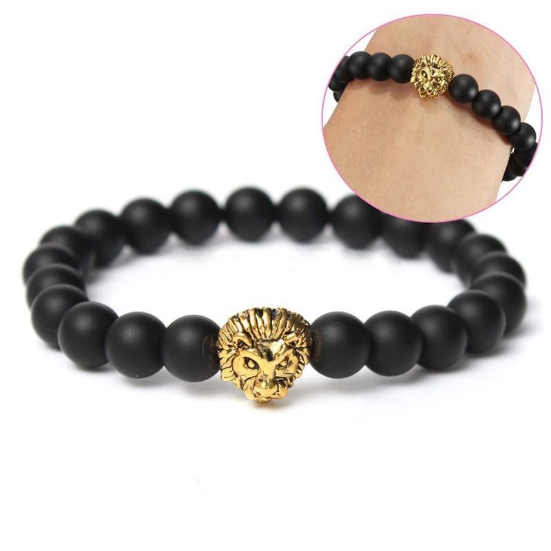 Lion-Head-Black-Lava-Stone-Bracelet-1