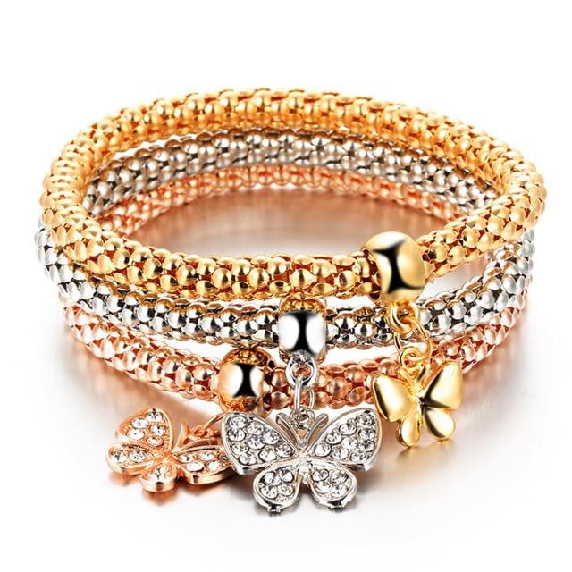 17KM-HOT-3-PCS-Set-Crystal-Butterful-Bracelet-Bangle-Multiple-Shape-Elastic-Heart-Bracelets-For-WomenBJCS012_3