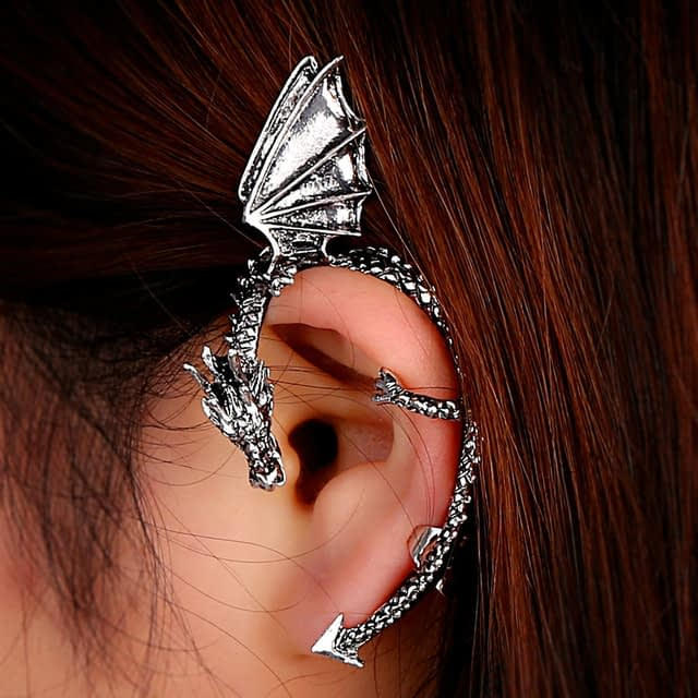 Dragon-Shape-Ear-Cuff-Earring-Earrings-game-of-thrones-mother-of-dragons-for-Women