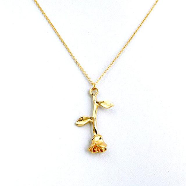 2018-New-Fashion-Jewelry-Exquisite-Tri-color-Rose-Pendant-Necklace-Rose-Necklace-Women-s-Elegant-Necklace_2